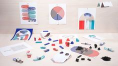 French designers Marion Pinaffo and Raphaël Pluvinage have designed a set of electronic toys that are cut and assembled from paper printed in special ink.