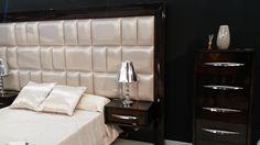 #Dormitorio #moderno de color negro y perla. #mueblesarria