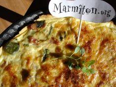 Tarte aux courgettes miam-mioum - Recette de cuisine Marmiton : une recette