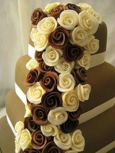 Me Encanta el Chocolate: LOS MEJORES PASTELES DE CHOCOLATE PARA BODAS (FOTOS)