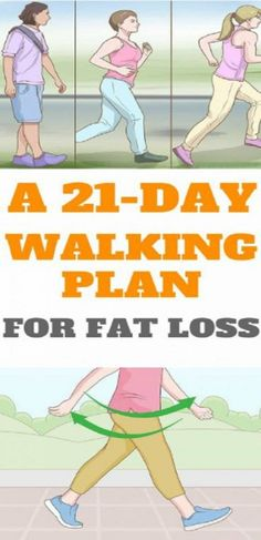 The Perfect 3-Week Walking Plan For Weight Loss. Its a walking plan that