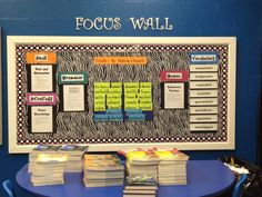 Focus Wall/Reading Focus Wall.