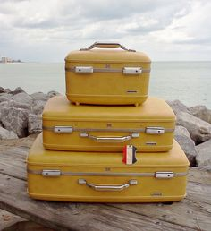 Vintage American Tourister luggage. | Little Bird Treasures ...