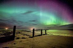 3Esta serie de fotos increíbles fueron tomadas desde la Isla de Lewis, en las Hébridas Exteriores.