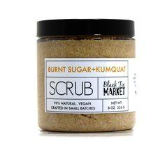 Burnt Sugar + Kumguat Sugar Scrub