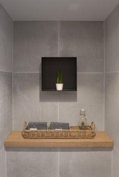 Asseccoires verwerkt in uw badkamer of toilet. Zelfs hout is tegenwoordig mogelijk.