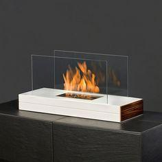 muenkel design plain fire, Ethanol Tischkamin