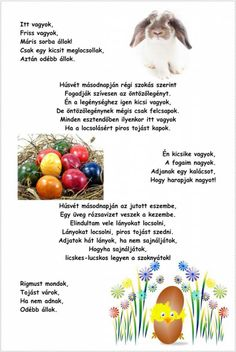 Happy Easter, Party, Poems, Spring, Easter Activities, Happy Easter Day, Poetry, Parties, Verses