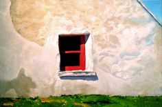 Window On Inishmore by Barrie Maguire on ArtClick.ie