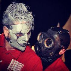 Sid and Jim ❤️✌️ #Slipknot #SidWilson #JimRoot #Love #Masks