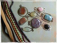 Hammered bead frames
