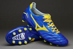 Mizuno Football Boots - Mizuno Morelia Neo FG Japan Edition - Firm Ground - Soccer Cleats - Dazzling Blue-Bolt
