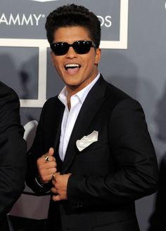 Bruno Mars - love him and his crew!! fabulous entertainers...