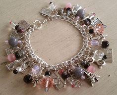 Afternoon+in+Paris+Charm+Bracelet+by+MistressJennie+on+Etsy,+$50.00