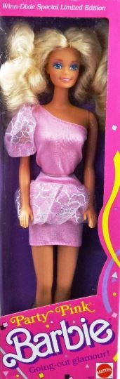 NEW ~ 1989 Party Pink Barbie #7637