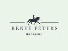 Renee Peters Dressage Logo by Morgan Parsons