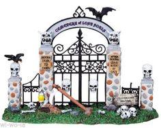 Lemax-83675-Cemetery-Gate-Spooky-Town-Halloween-Zubehoer