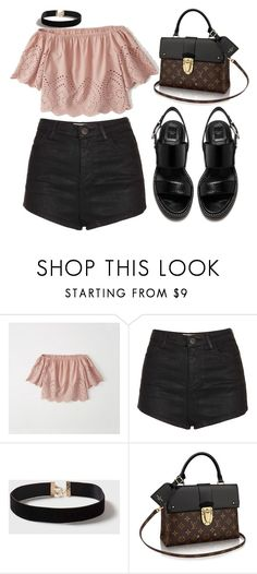 """""""Sin título #978"""" by lululafitte on Polyvore featuring moda, Abercrombie & Fitch, Topshop y Dorothy Perkins"""