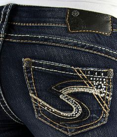 Silver Tuesday Slim Boot Stretch Jean.  My go-to jean.  Only brand I've found that fits my awkward-ass just so.