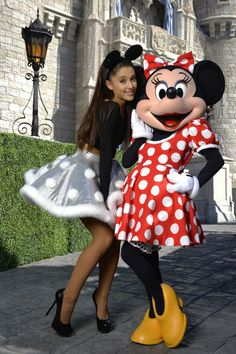 Ariana Grande Disney World | Ariana Grande at Christmas Day Parade at Walt Disney World on Orlando ...