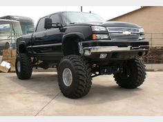 Lifted 2010 Chevy Truck