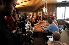 2014 marks the 30th anniversary of the Sundance Film Festival and the 5th year of the NEXT <=> section.  During the 2010 Festival, Sundance Film Festival Director, John Cooper, hosted a breakfast with the NEXT <=> filmmakers to discuss their process and films (pictured above).