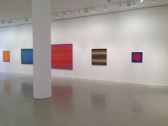 Julian Stanczak Artist Paintings Exhibition Mitchell-Innes & Nash Gallery Chelsea New York