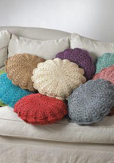 Top 10 Crochet Pillows More
