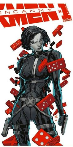 Domino  - Uncanny X-Men  #1 ... °°
