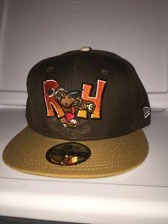 New Era Midland Texas rockhounds minor league baseball fitted