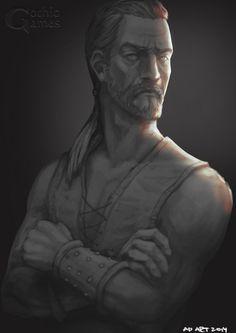 Gothic: Nameless Hero by DaedraDagon on DeviantArt Gothic Games, Character Ideas, Fanart, Universe, Deviantart, Statue, Games, Fan Art, Cosmos