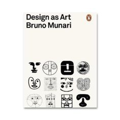 One of the last surviving members of the futurist generation, Bruno Munari's Design as Art is an illustrated journey into the artistic possibilities of modern design translated by Patrick Creagh published as part of the 'Penguin on Design' series in Penguin Modern Classics.  'The designer of today re-establishes the long-lost contact between art and the public, between living people and art as a living thing'