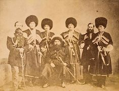 """The picture is titled with """"King of Dagestan"""" Imam Shamils sword was exhibited during the Circassian Exhibition in the Ethnology Museum Hamburg in 2014   J. Guthrie Watson's """"Circassian"""" photographs from his """"A Journey Across Russia"""" Album, 1889 Referred by: https://www.facebook.com/pages/Circassian-Culture-and-Folklore/192171867493752?hc_location=timeline"""