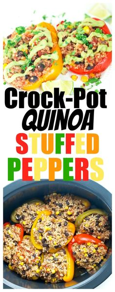 Best Crock Pot Recipes for Any Meal Crock Pot Recipes, Vegan Crockpot Recipes, Slow Cooker Recipes, Diet Recipes, Vegetarian Recipes, Quinoa Recipes Healthy Vegetarian, Recipes Dinner, Crockpot Quinoa, Top Recipes