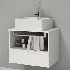 Compre Gabinete para Banheiro Itatiaia Solaris IGBSG1 60 (Não Acompanha Cuba) Branco/Laca em até 10x sem juros e entrega para todo Brasil. Aproveite!