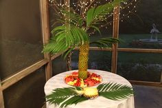 Vickies Pineapple Palm Tree and Garden