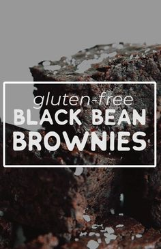 This gluten-free Black Bean Brownies recipe is a decadent, healthy dessert (and no one will ever guess they're packed with fiber-filled black beans!) It's a flavor packed dessert idea perfect for family potlucks or weeknight treats. Healthy Dessert Recipes, Gluten Free Desserts, Gourmet Recipes, Vegetarian Recipes, Black Bean Recipes, Black Bean Brownies, Butter Chocolate Chip Cookies, Chocolate Cake, Carpaccio