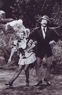 Marilyn Monroe and Dan Daley in Ticket to Tomahawk  1950