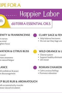 doTERRA Essential Oils for Pregnancy