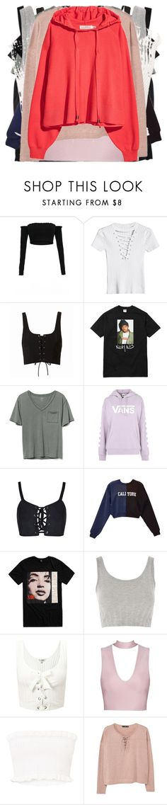 """""""Untitled #2114"""" by bucketlistdiary on Polyvore featuring Gap, Vans, Cynthia Rowley, Topshop, Miss Selfridge and MANGO"""