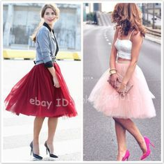 7 Layers Summer Style Tulle Skirt High Waisted Women Tutu Maxi Skirts Plus Size Tutu Outfits, Bohemian Attire, White Tulle Skirt, Robes Tutu, Skirt Images, 7 Layers, Maxi Skirts, Colour Black, Royal Blue