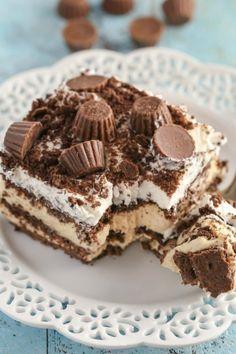 CHOCOLATE PEANUT BUTTER ICEBOX CAKE Really nice recipes. Every  Mein Blog: Alles rund um Genuss & Geschmack  Kochen Backen Braten Vorspeisen Mains & Desserts!
