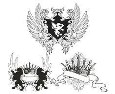 スポンサーリンク  ロゴ、紋章デザインを作成するときに活用したいデザインパーツ素材がたくさん見つか …