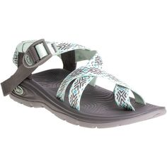 Chaco Z/Volv 2 Sandal ($100) ❤ liked on Polyvore featuring shoes, sandals, chaco sandals, arch support sandals, wrap sandals, traction shoes and chaco shoes