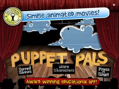 Puppet Pals is an app that allows students to create their own puppet show. Great for group activities and assessments. Cartoon Gifs, Animated Cartoons, Cool Cartoons, Cartoon Maker App, Classroom Activities, Group Activities, Classroom Ideas, Stick Figure Animation, Video Maker App