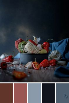 ZJ Colour Palette 373 #colourpalette #colourinspiration