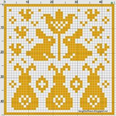 On the pins, and elsewhere in everyday life . Knitting Charts, Knitting Stitches, Knitting Patterns, Crochet Patterns, Crochet Borders, Crochet Squares, Cross Stitch Charts, Cross Stitch Designs, Cross Stitch Patterns