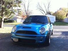 my R53 MINI Cooper S