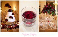 Nicole + Joe Joe's Wedding at GraniteLinks - Blog - Meghann Gregory Photography #classy #redandgold