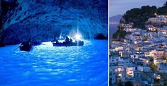 The Blue Grotto (Grotta Azzurra) in Capri, Italy – miss this place!